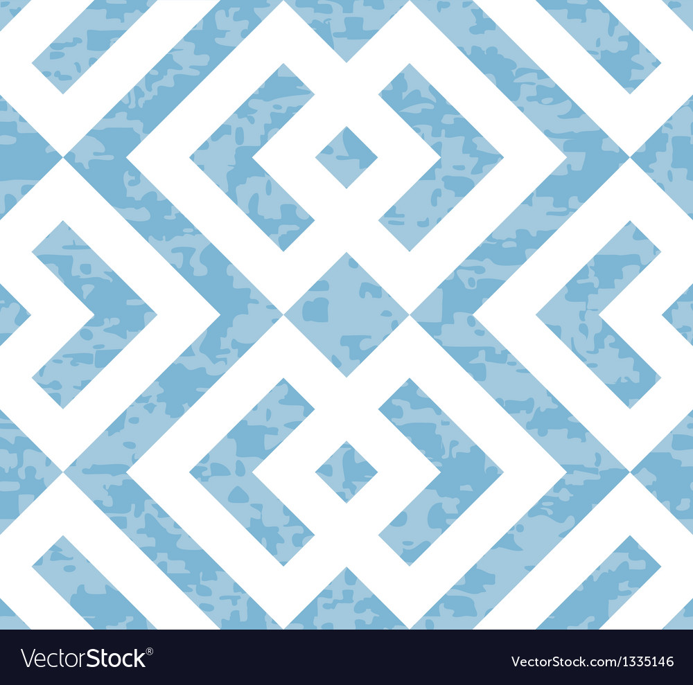 Seamless interlocked squares geometric background vector | Price: 1 Credit (USD $1)