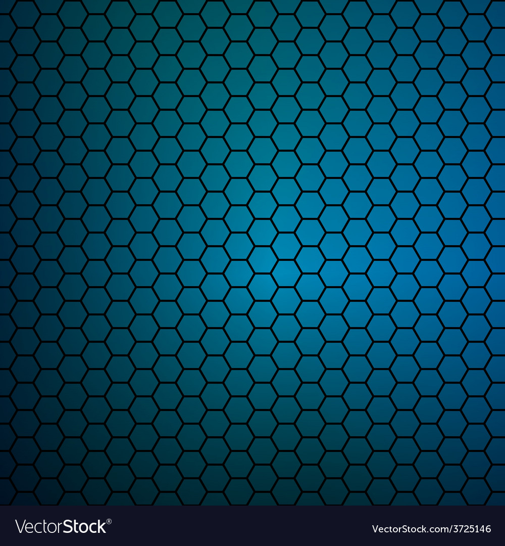 Simple colorful background consisting of hexagons vector | Price: 1 Credit (USD $1)