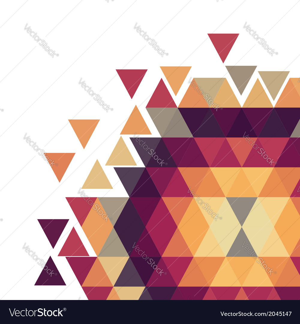 Geometric colorful pattern background vector | Price: 1 Credit (USD $1)