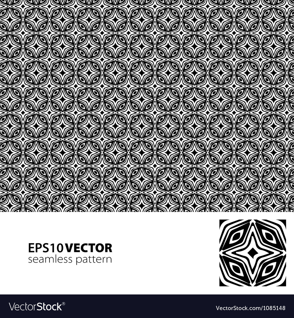 Black-white pattern 4 vector | Price: 1 Credit (USD $1)