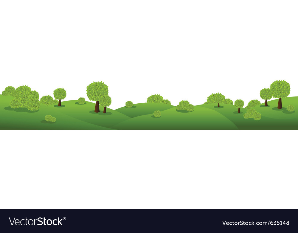 Landscape panorama vector | Price: 1 Credit (USD $1)