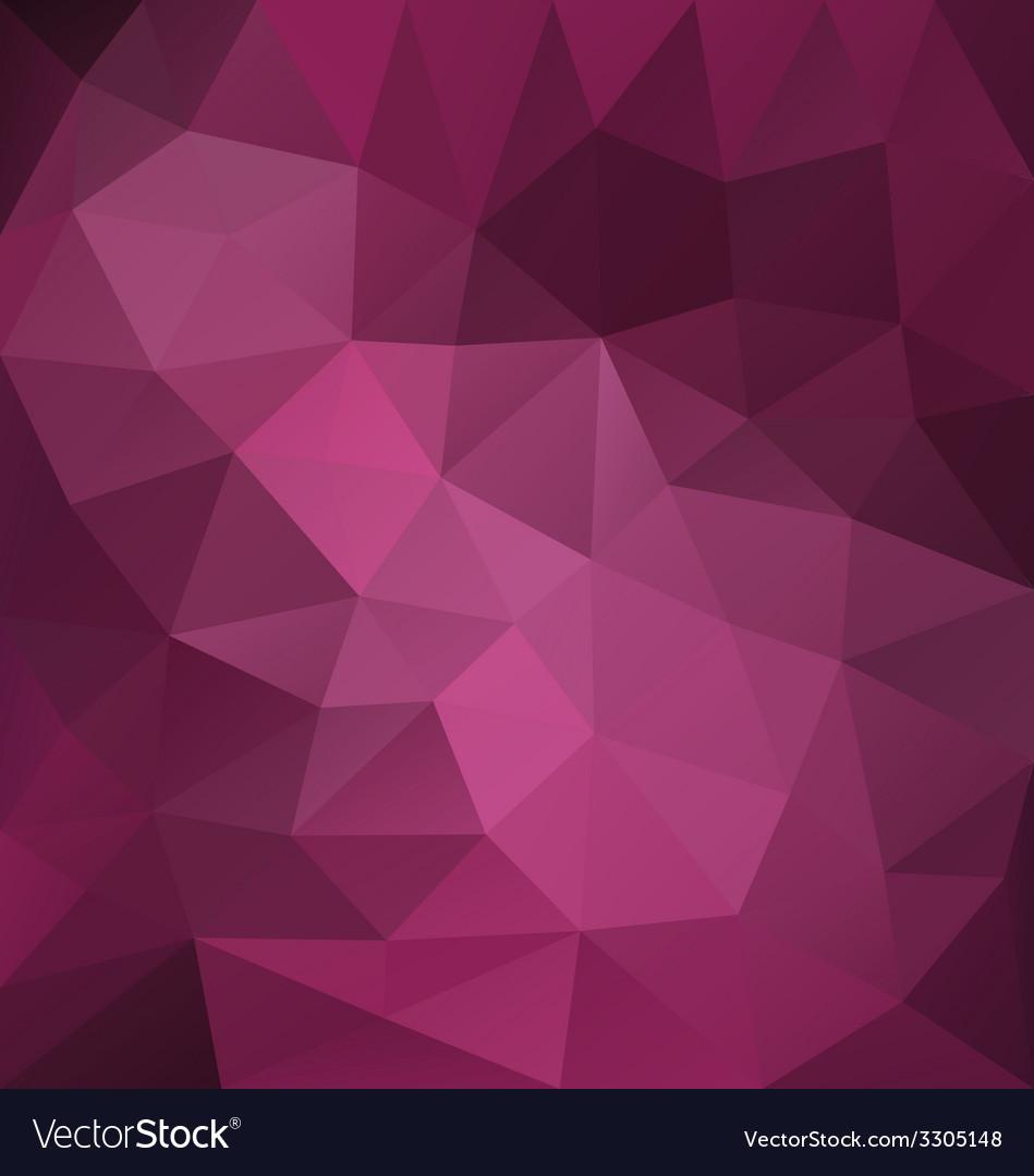 Purple triangle vector | Price: 1 Credit (USD $1)