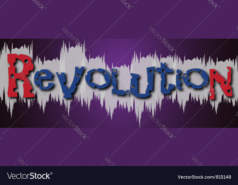 Revolution grafitti vector | Price: 1 Credit (USD $1)