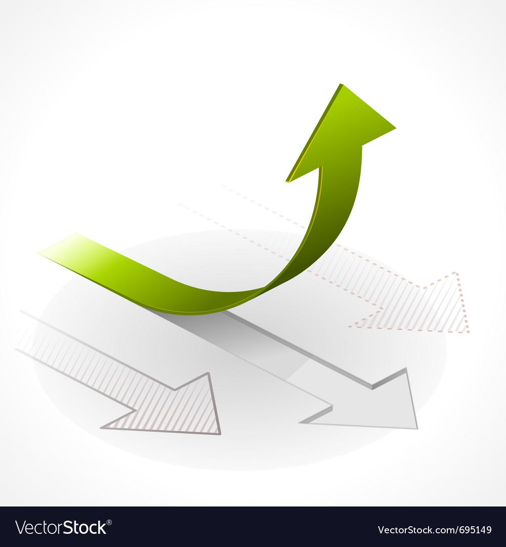 Onwards upwards arrows vector   Price: 1 Credit (USD $1)