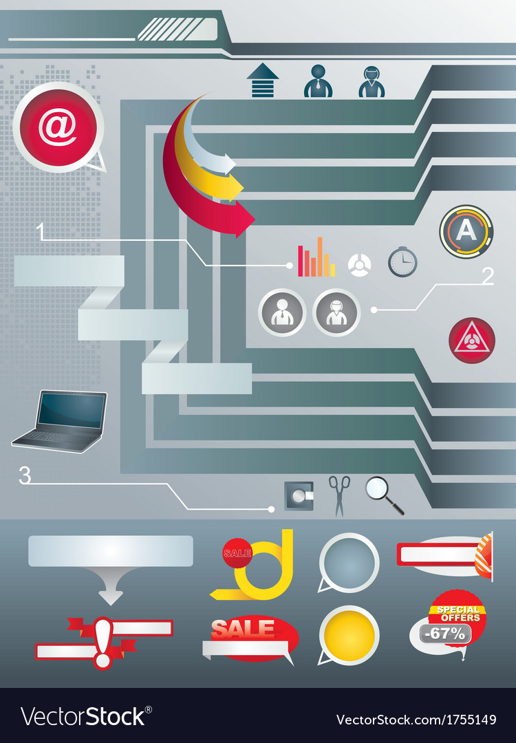 Set elements of infographic vector | Price: 1 Credit (USD $1)
