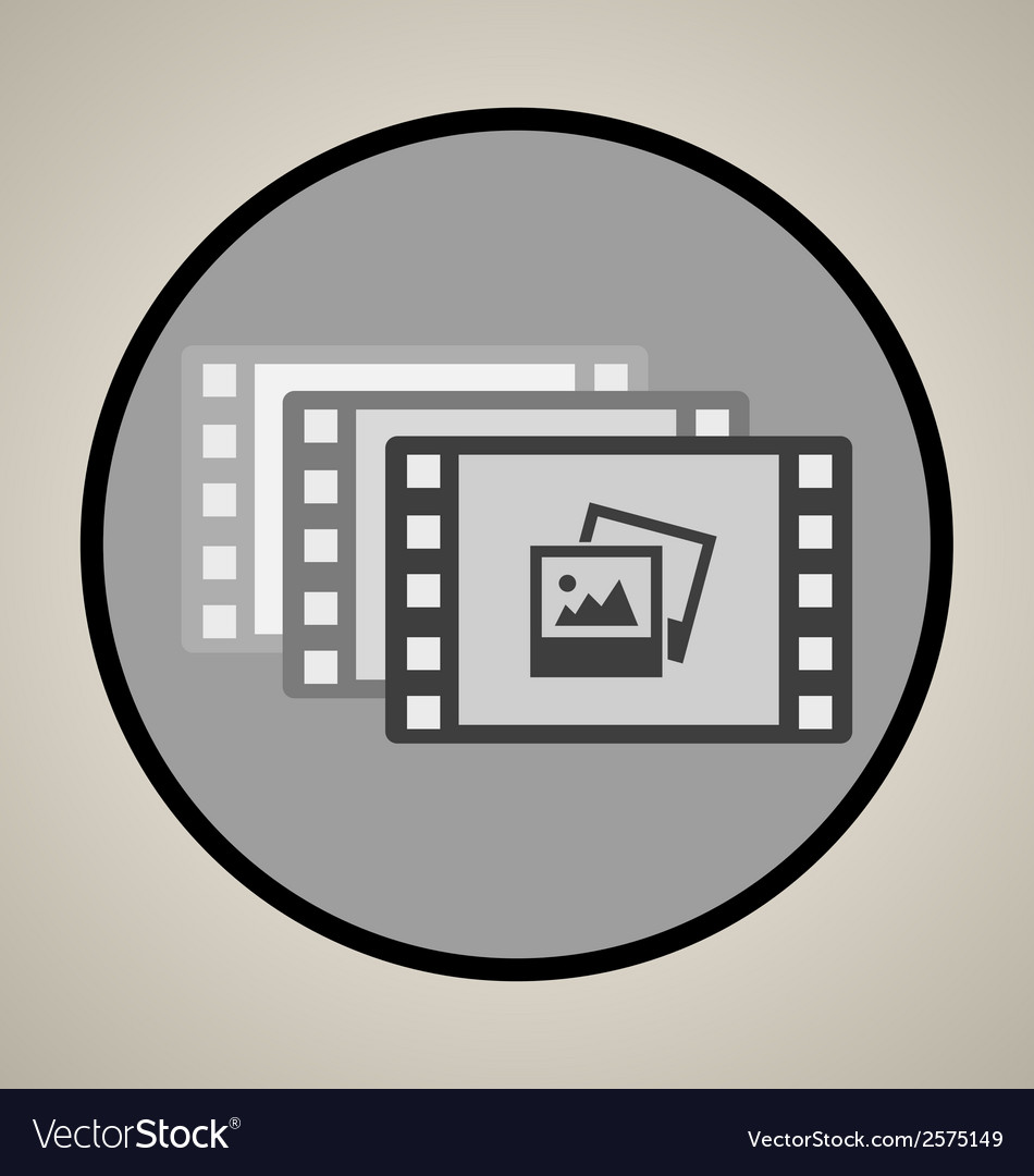 Video production icon vector | Price: 1 Credit (USD $1)
