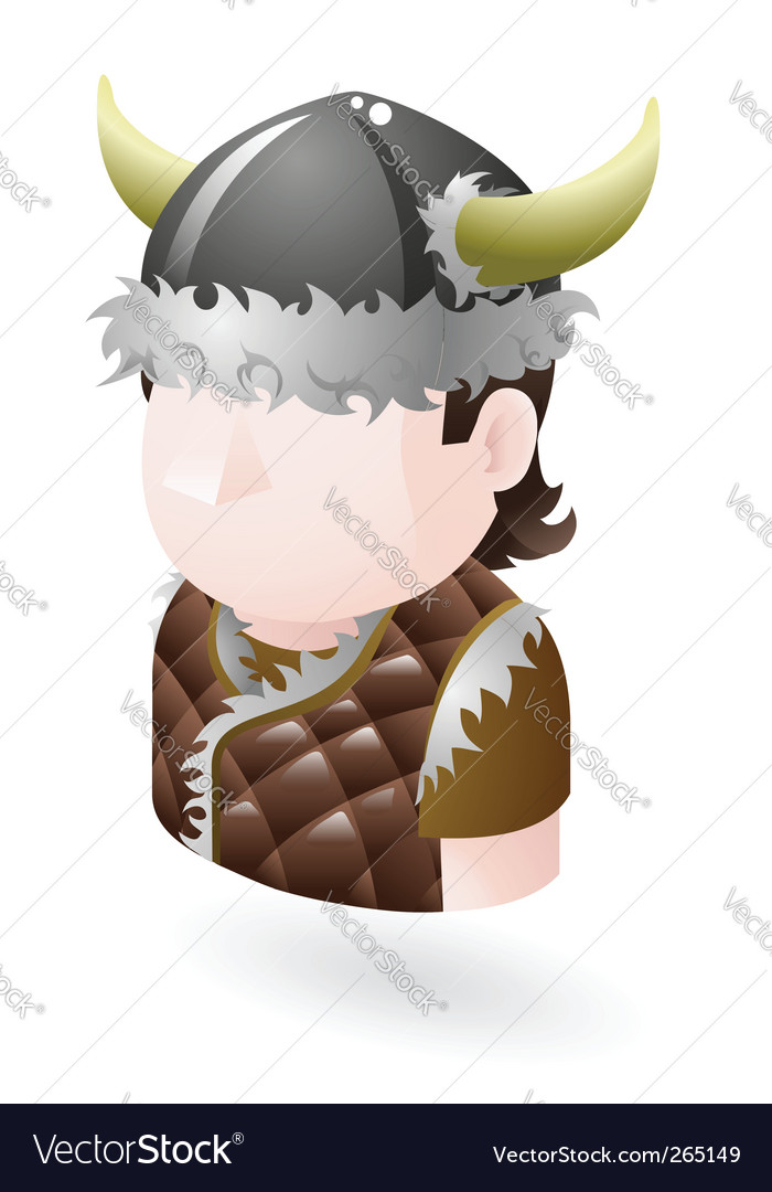 Viking icon vector | Price: 3 Credit (USD $3)
