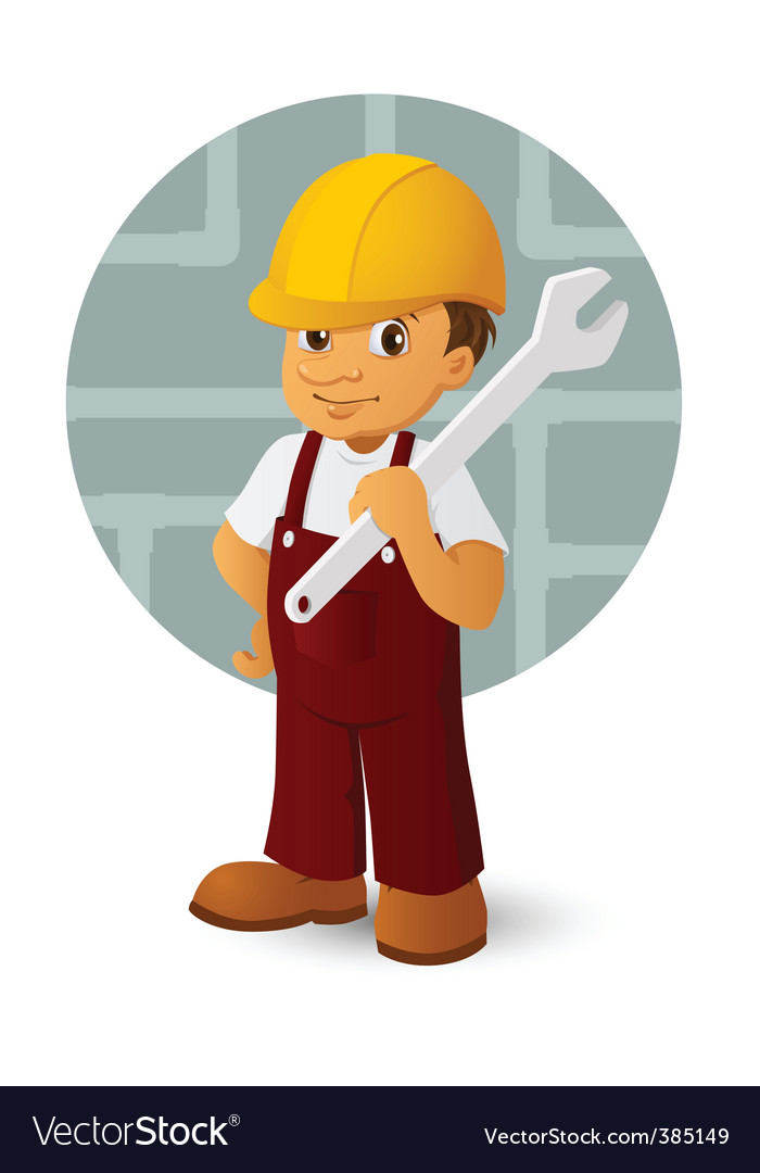 Worker vector | Price: 1 Credit (USD $1)