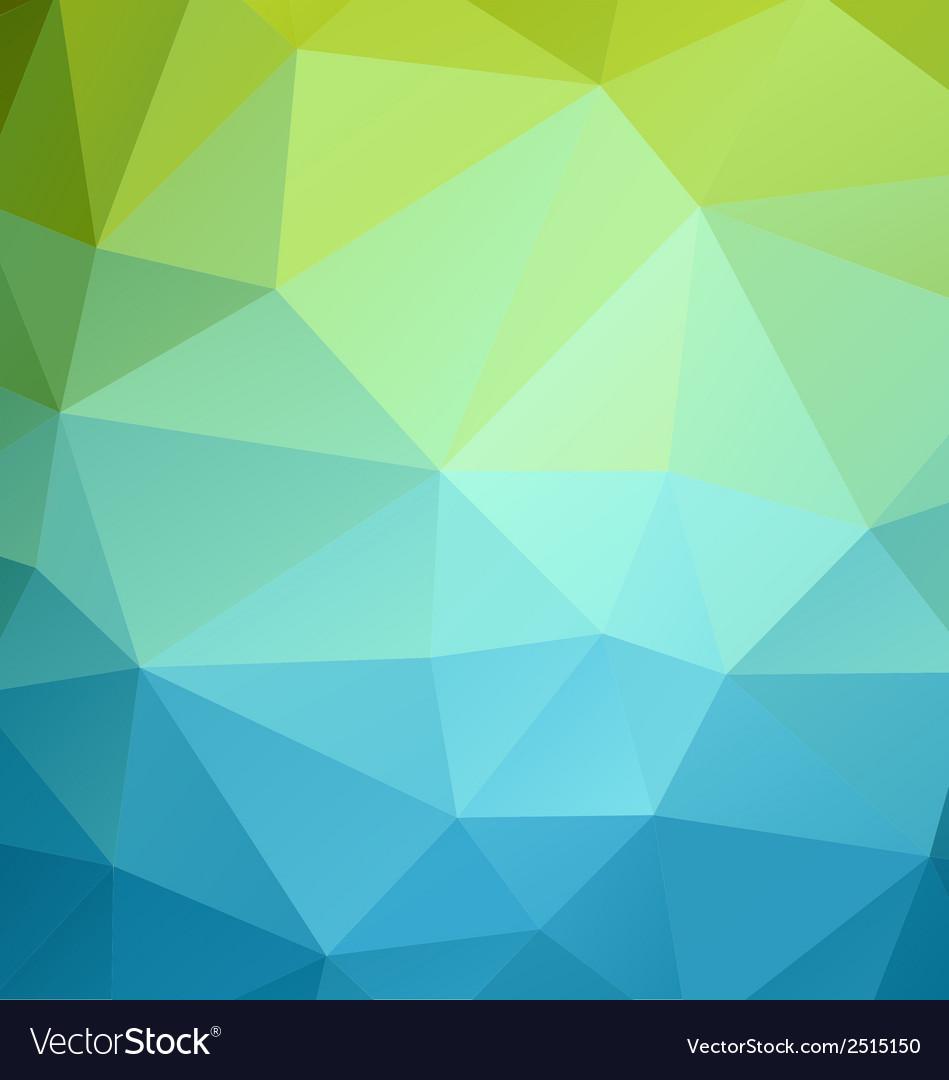 Poligonal color background vector | Price: 1 Credit (USD $1)