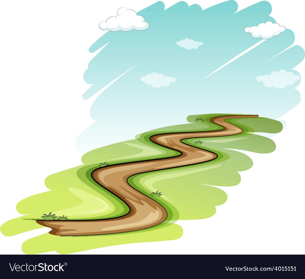 A pathway vector | Price: 3 Credit (USD $3)