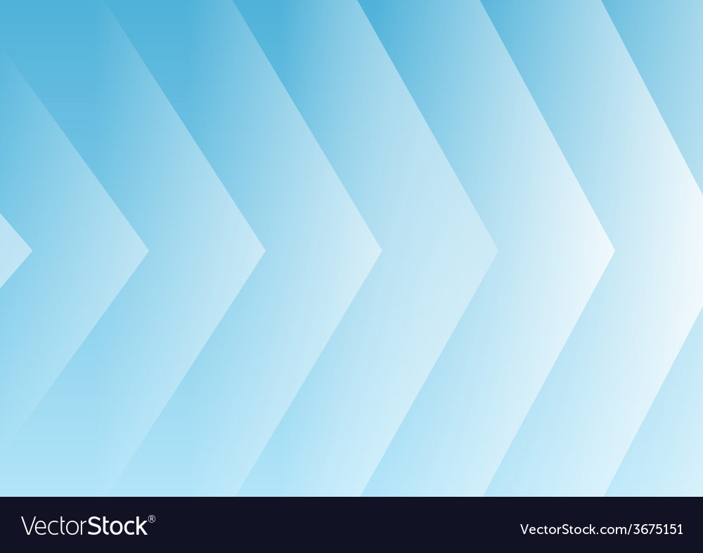 Abstract blue arrows background vector | Price: 1 Credit (USD $1)