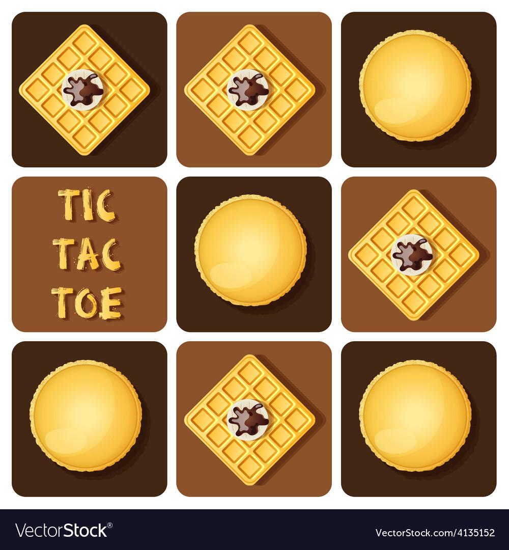 Macaronwaffle vector | Price: 1 Credit (USD $1)