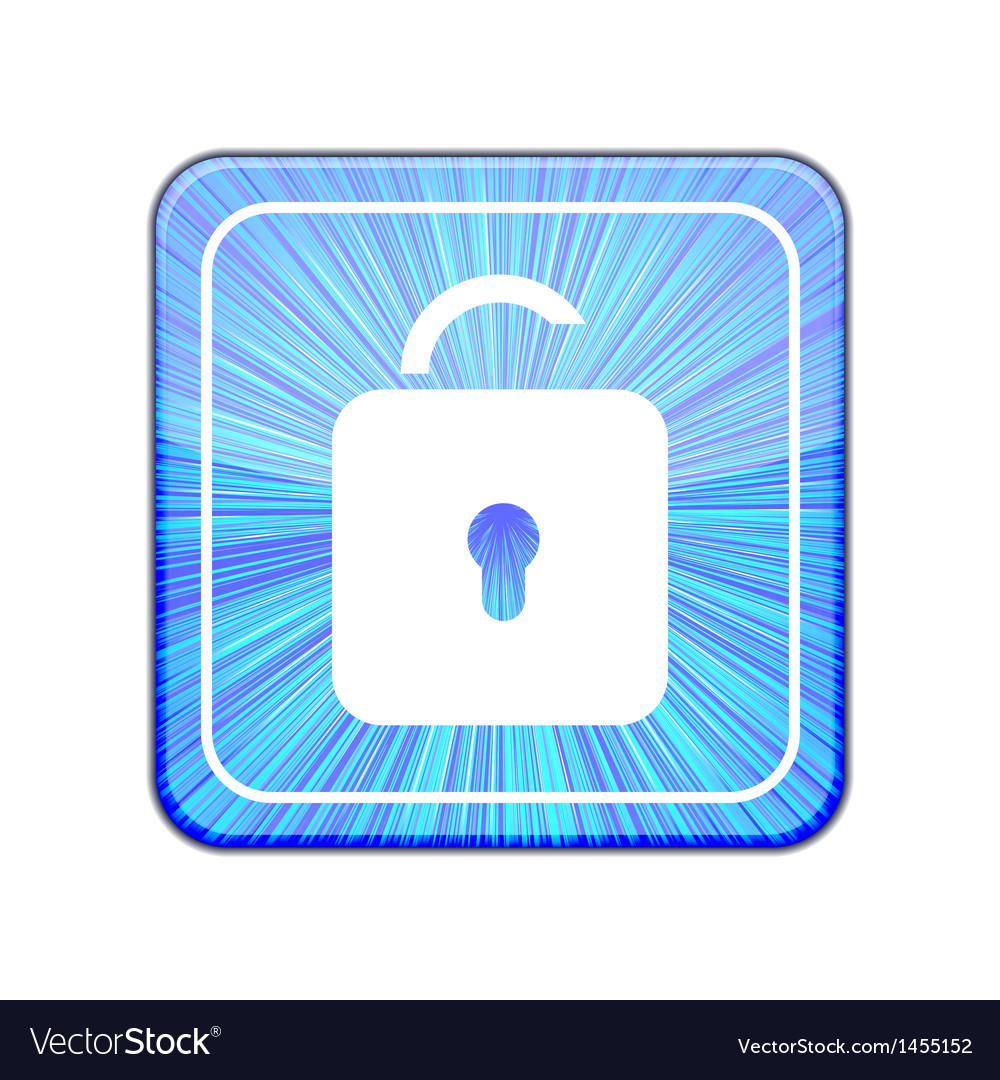 Version unlock icon eps 10 vector | Price: 1 Credit (USD $1)