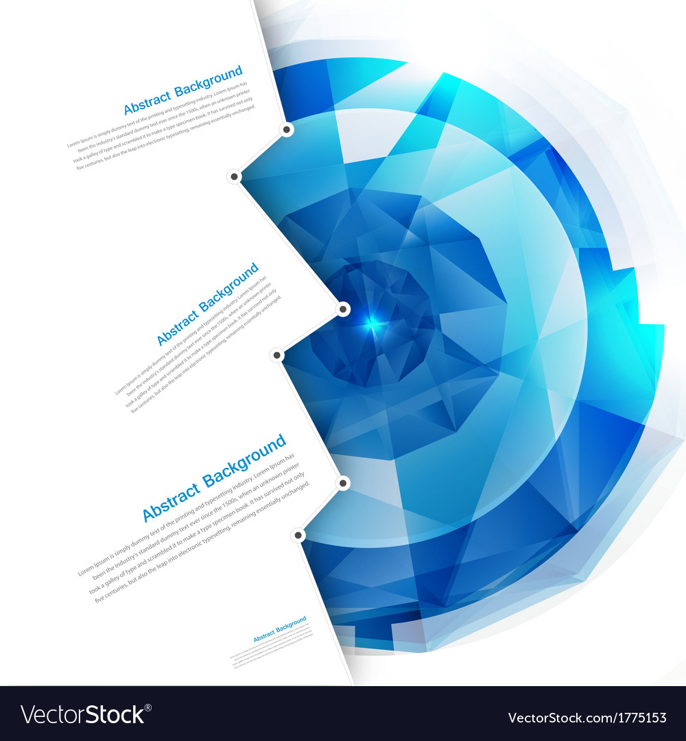 Abstract background polygon blue vector | Price: 1 Credit (USD $1)