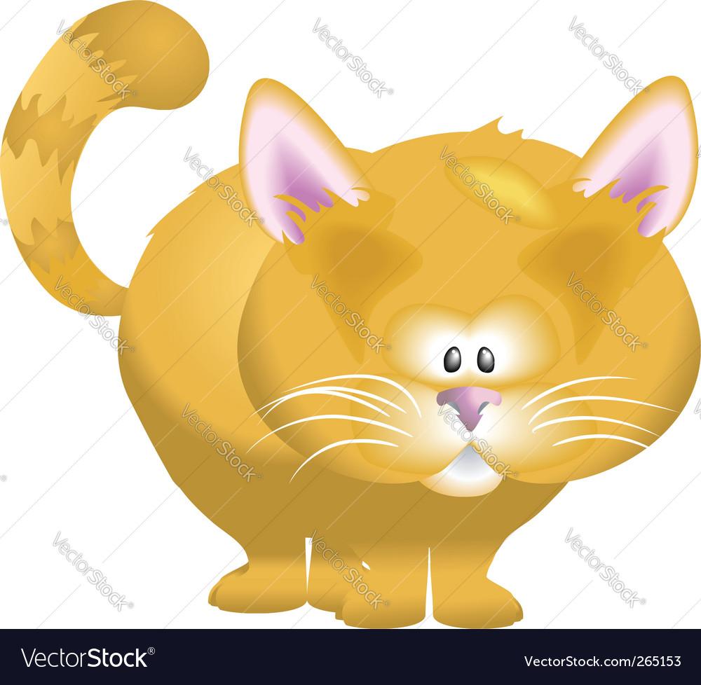 Cute cat vector | Price: 1 Credit (USD $1)