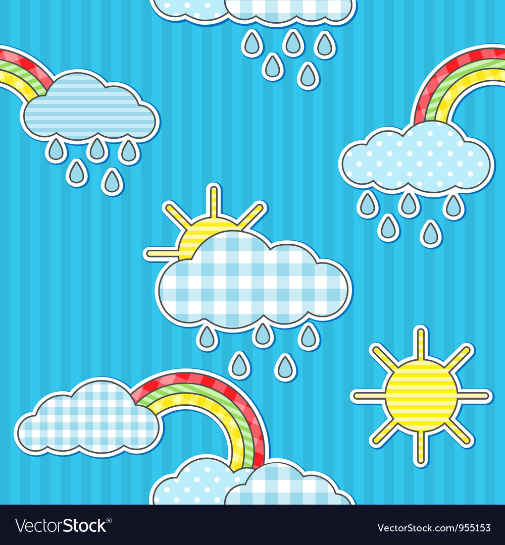 Rain pattern vector | Price: 1 Credit (USD $1)