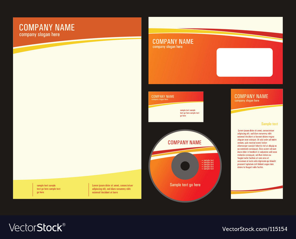 Elements of business style vector | Price: 1 Credit (USD $1)