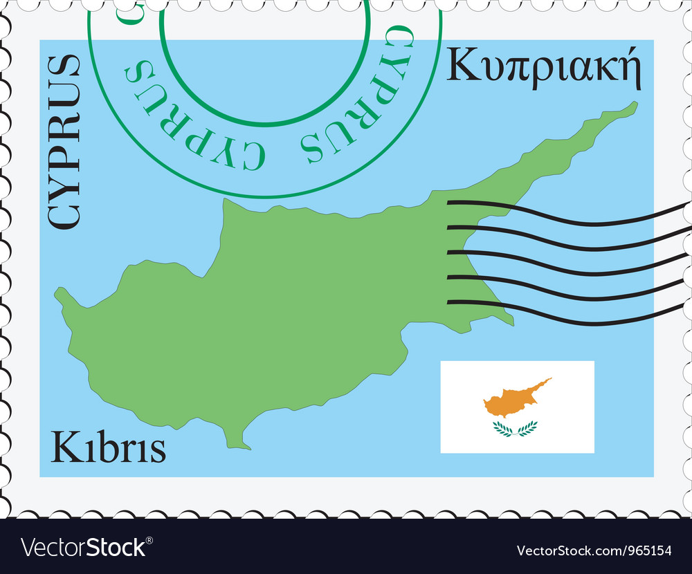 Mail to-from cyprus vector | Price: 1 Credit (USD $1)