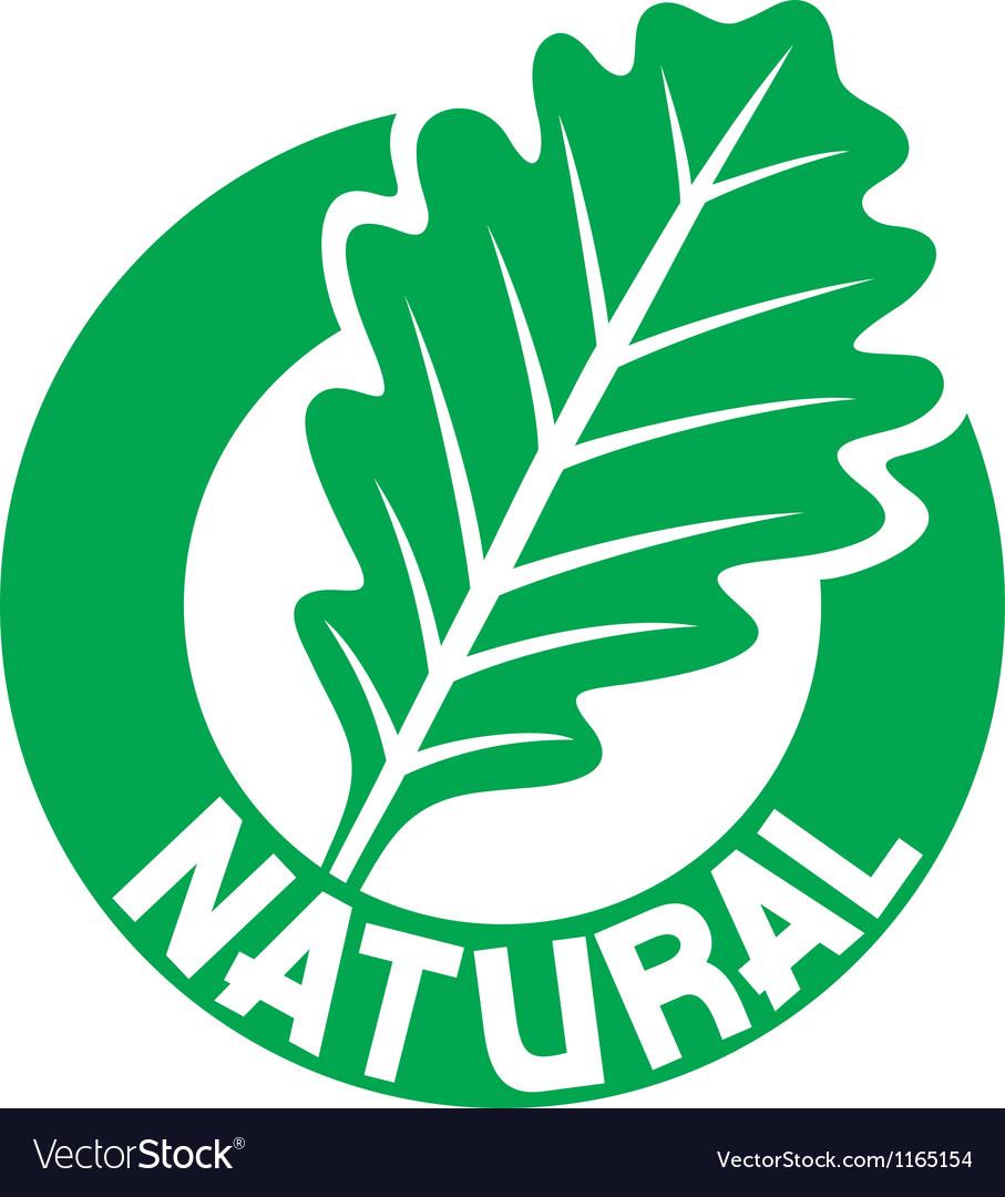 Natural symbol vector | Price: 1 Credit (USD $1)