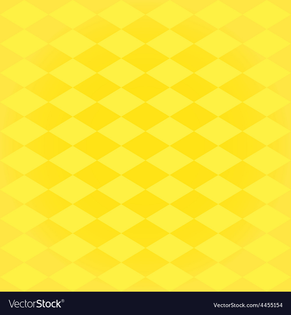 Seamless harlequin pattern-yellow vector | Price: 1 Credit (USD $1)