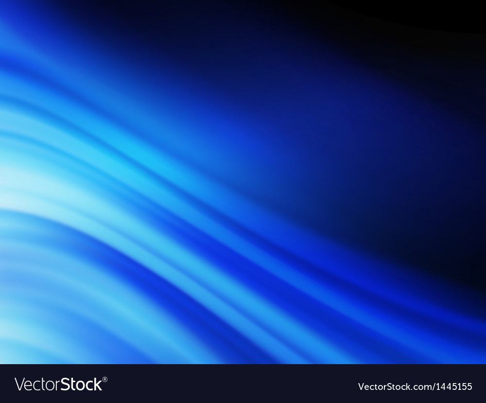 Blue smooth twist light lines background eps 10 vector | Price: 1 Credit (USD $1)