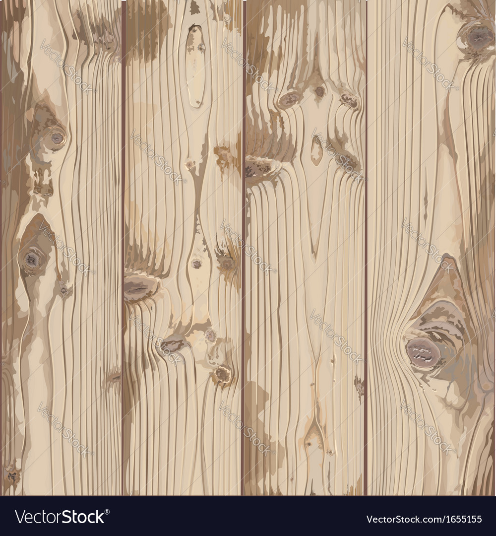 Hand-painted texture of light wood vector | Price: 3 Credit (USD $3)
