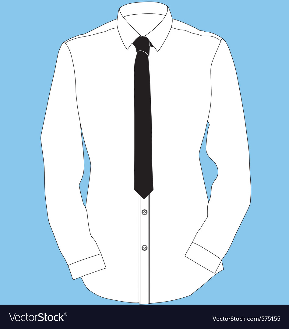 Shirt and tie vector | Price: 1 Credit (USD $1)