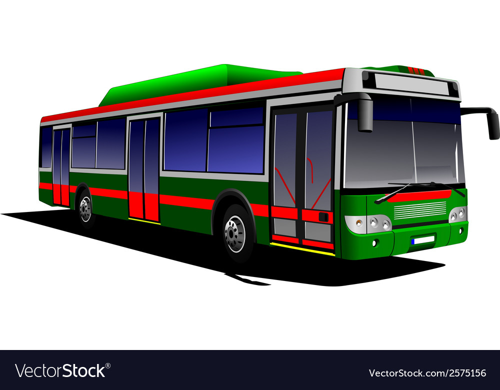 Al 0613 bus 01 vector | Price: 1 Credit (USD $1)