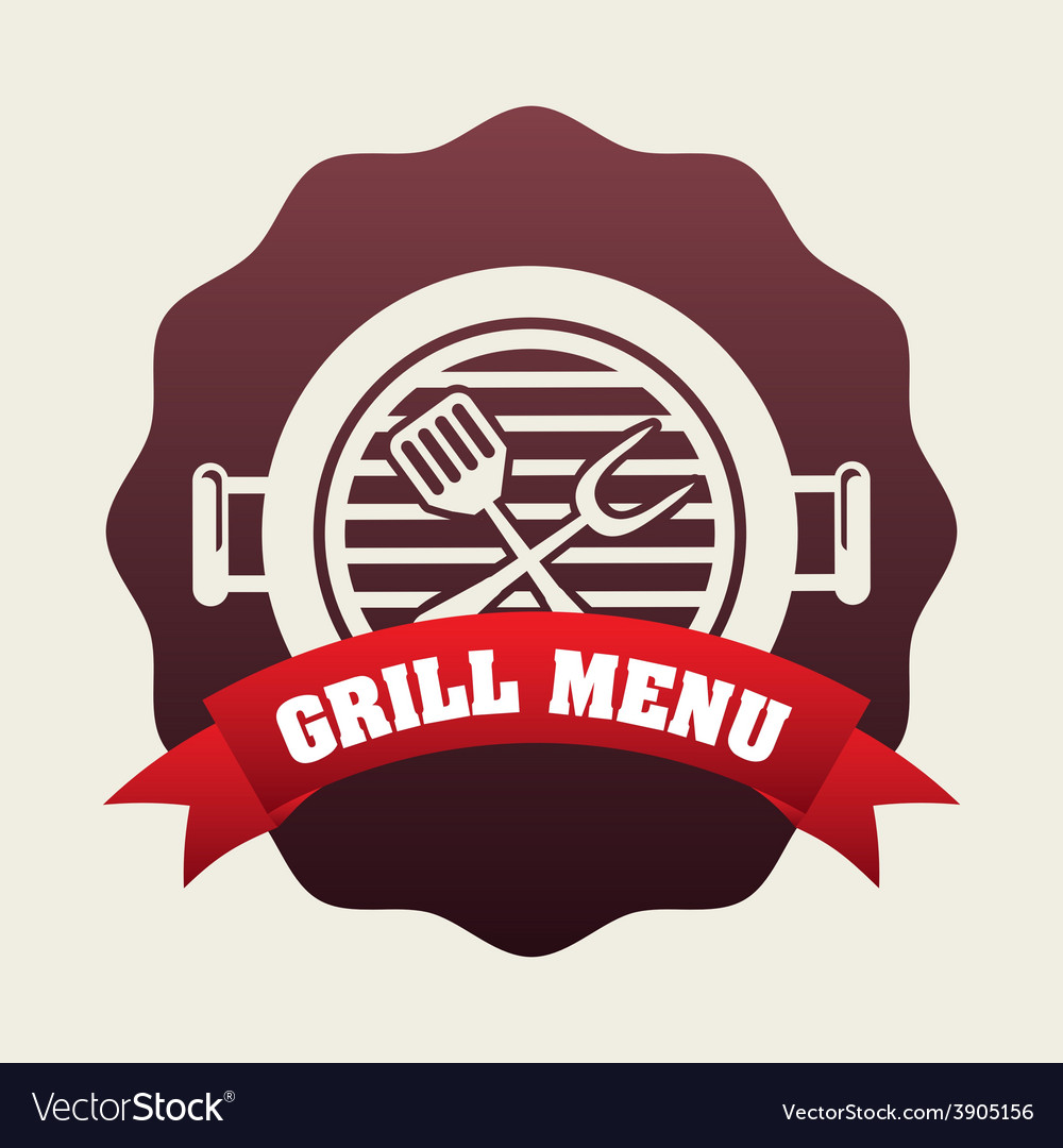 Grill menu vector | Price: 3 Credit (USD $3)