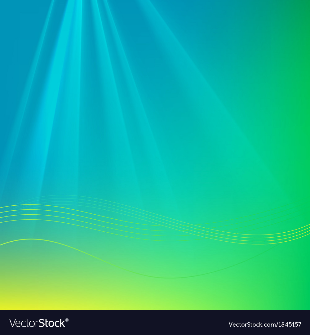 Abstract background with rays and waves vector | Price: 1 Credit (USD $1)