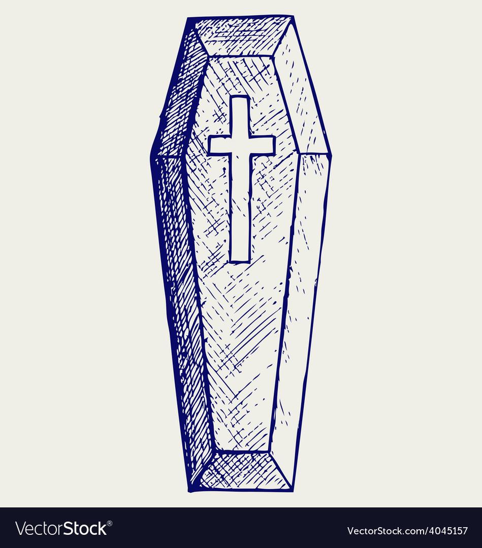 Black coffin vector   Price: 1 Credit (USD $1)