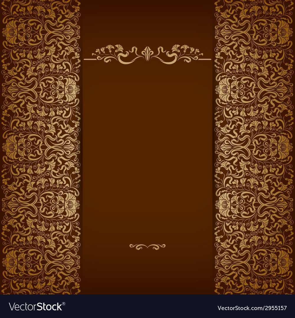 Elegant background with lace ornament vector | Price: 1 Credit (USD $1)