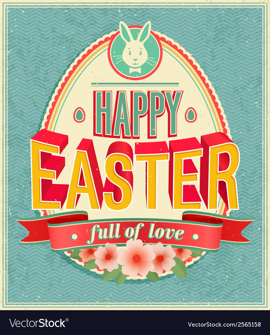 Card easter 2 vector | Price: 1 Credit (USD $1)