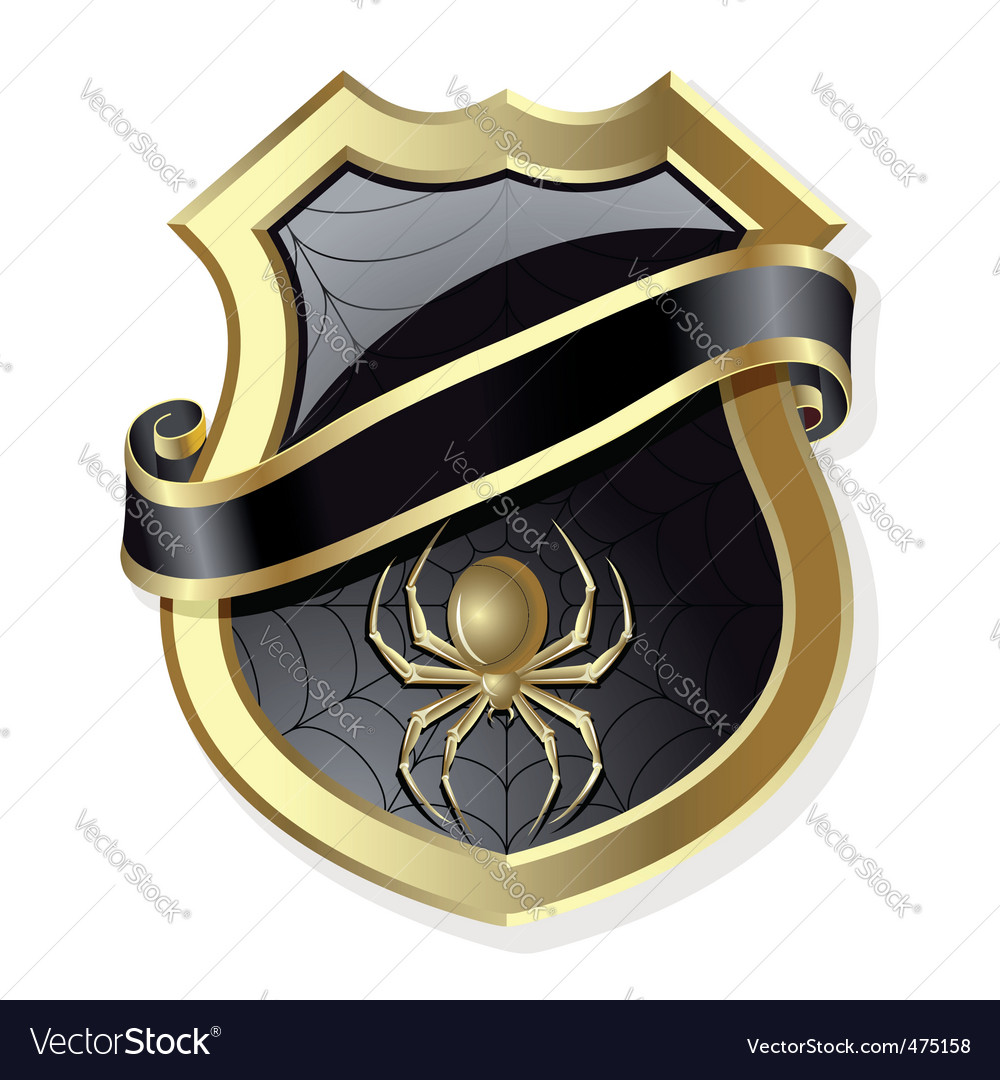 Frame with spider vector   Price: 1 Credit (USD $1)