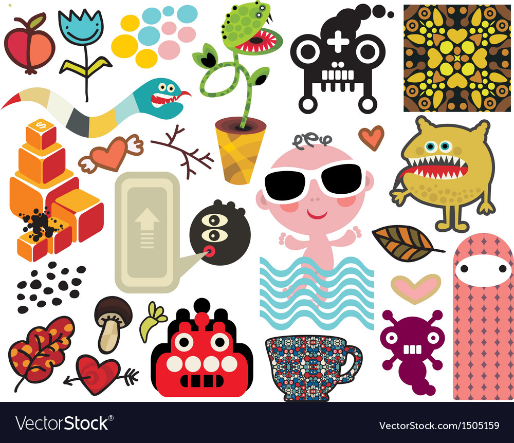 Mix of different images vol58 vector | Price: 1 Credit (USD $1)
