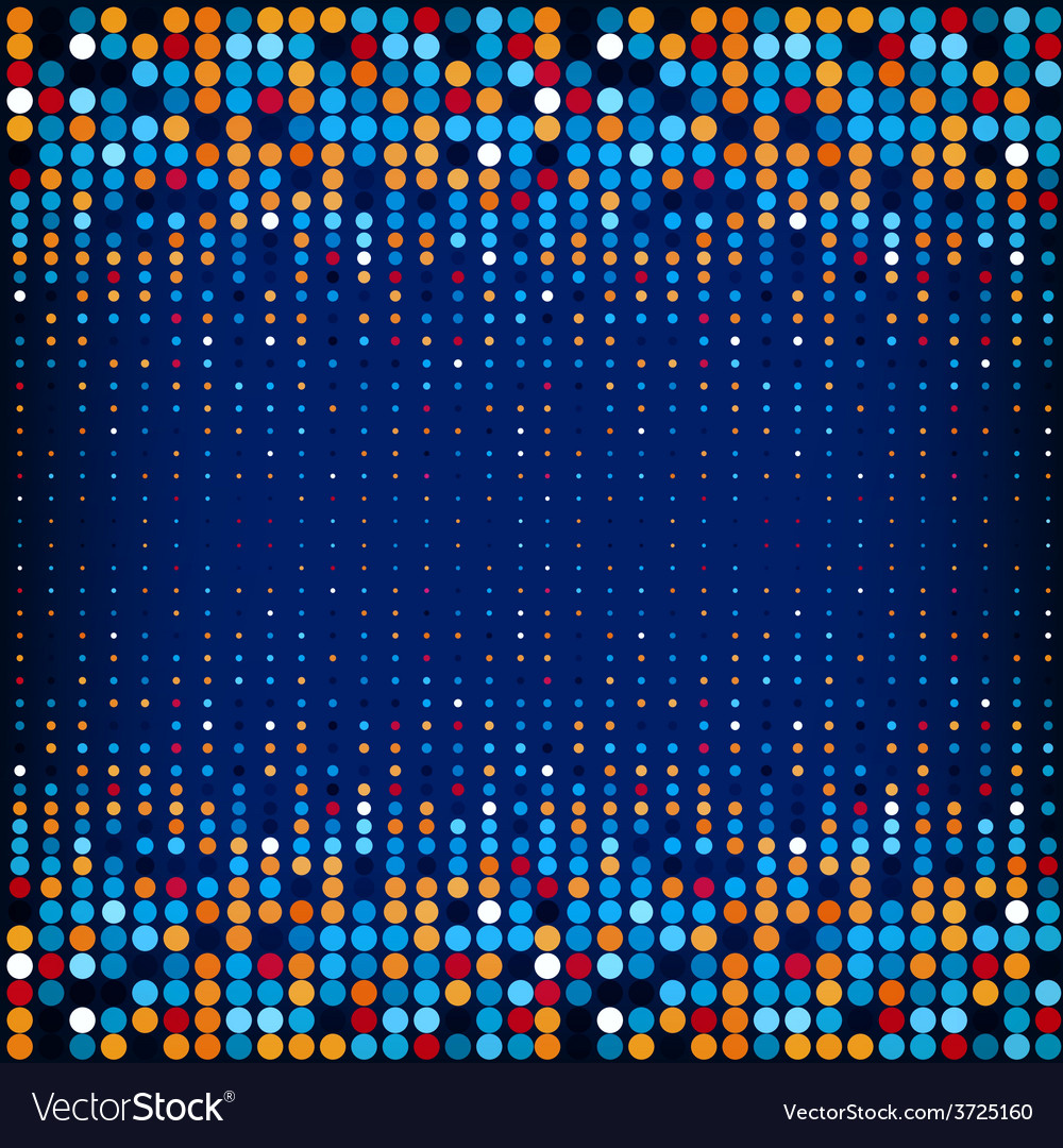 Background with the colored circles in a vector | Price: 1 Credit (USD $1)