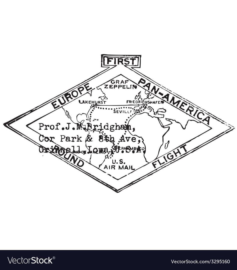 Map black white label men print graphic vector | Price: 1 Credit (USD $1)