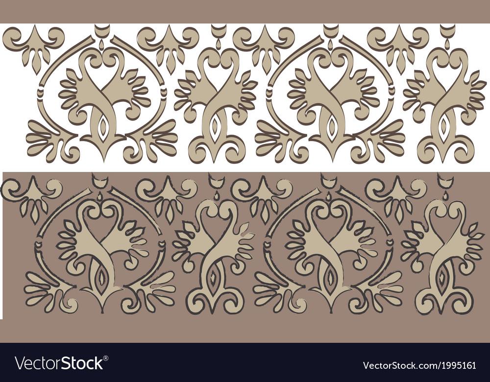 Horizontal historical ornament vector | Price: 1 Credit (USD $1)