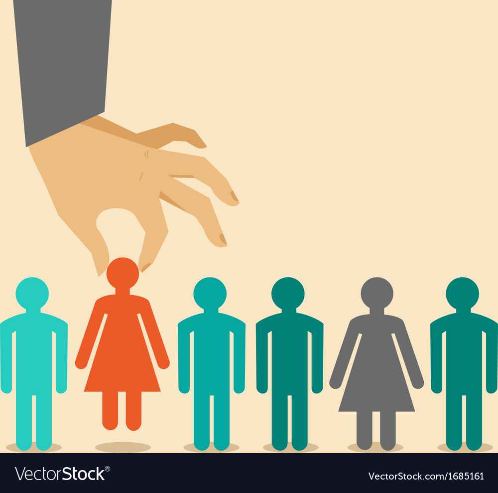 Human resources concept vector | Price: 1 Credit (USD $1)