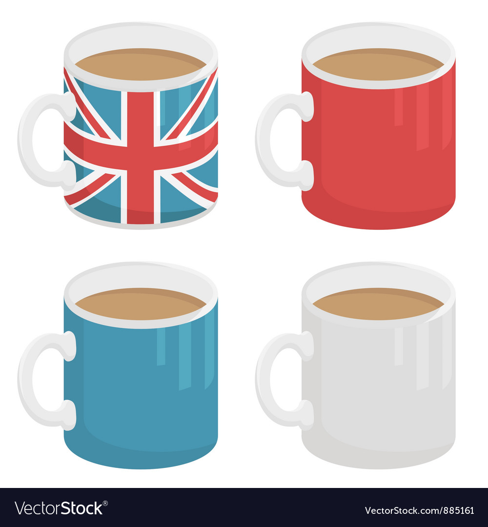 Uk mug vector | Price: 1 Credit (USD $1)
