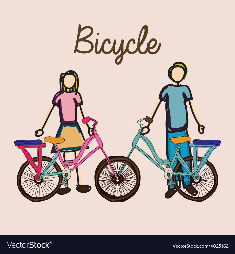 Bicycle desing vector | Price: 1 Credit (USD $1)