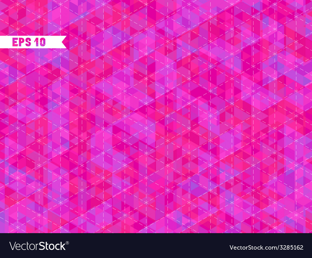 Geometric pink background with place for your text vector | Price: 1 Credit (USD $1)
