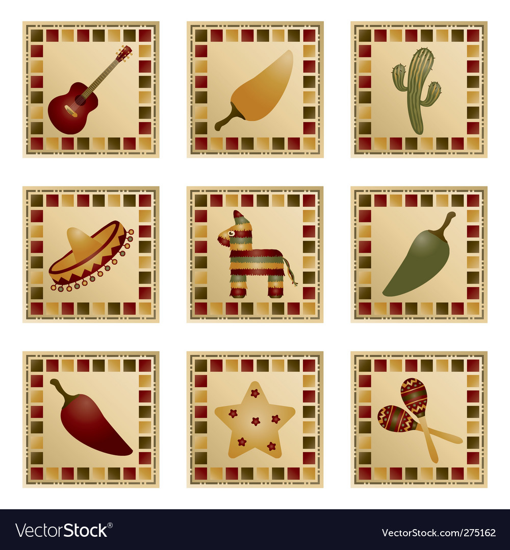 Mexican squares vector   Price: 1 Credit (USD $1)