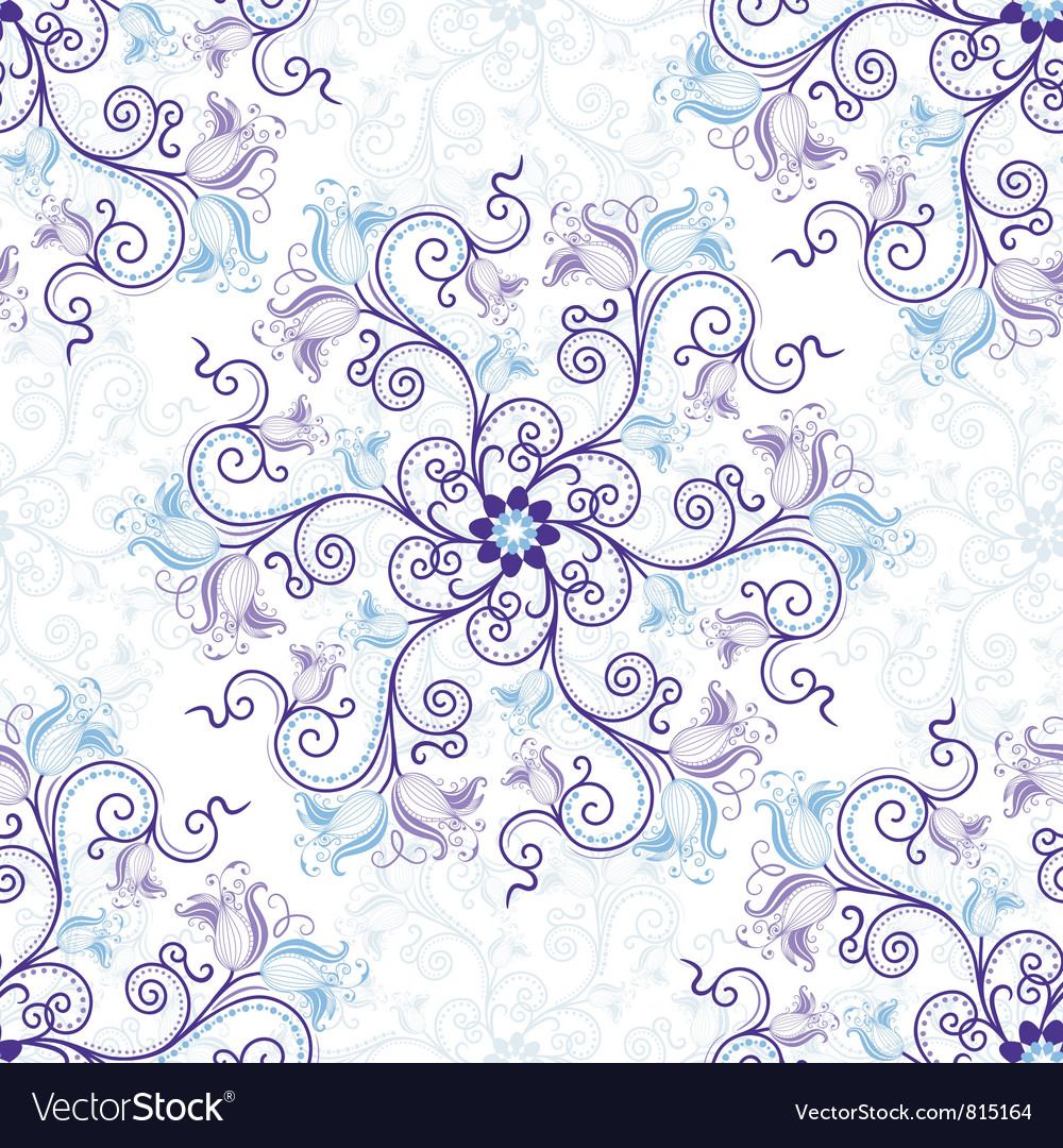 Gentle seamless pattern vector | Price: 1 Credit (USD $1)
