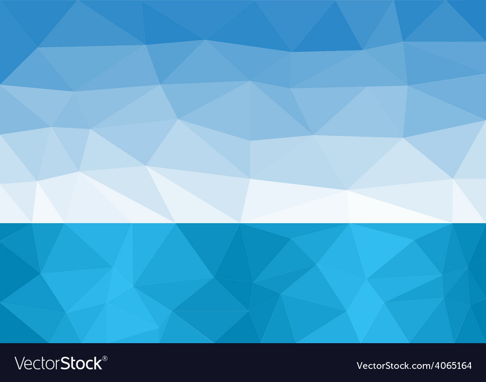 Sea horizon vector | Price: 1 Credit (USD $1)