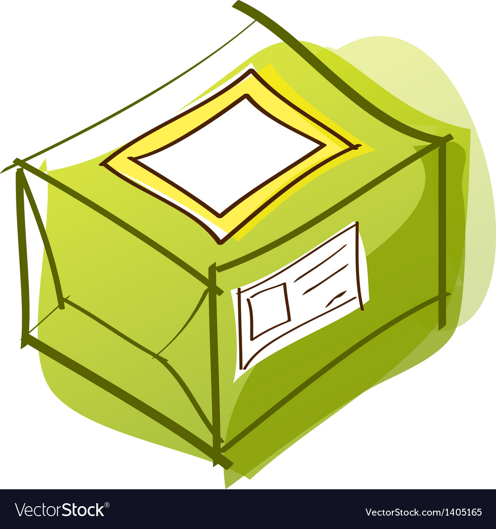 A package is placed vector | Price: 1 Credit (USD $1)