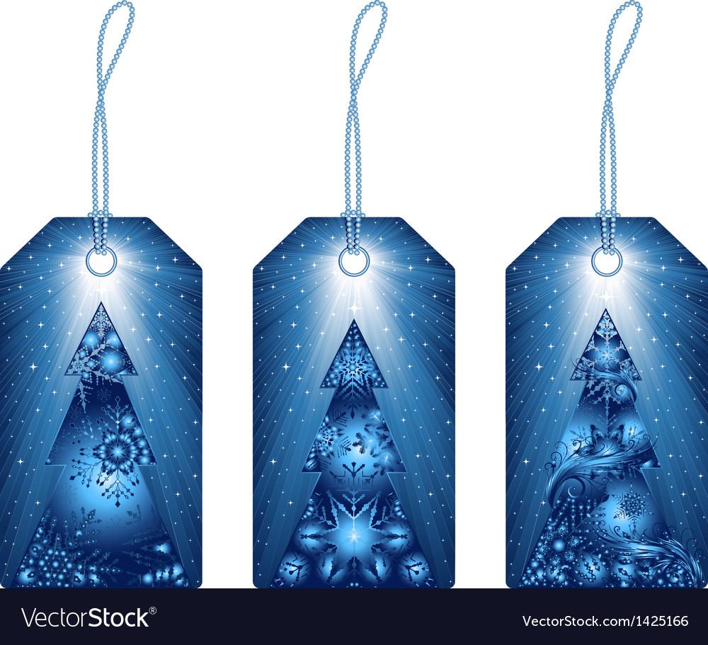 Christmas tags vector | Price: 1 Credit (USD $1)