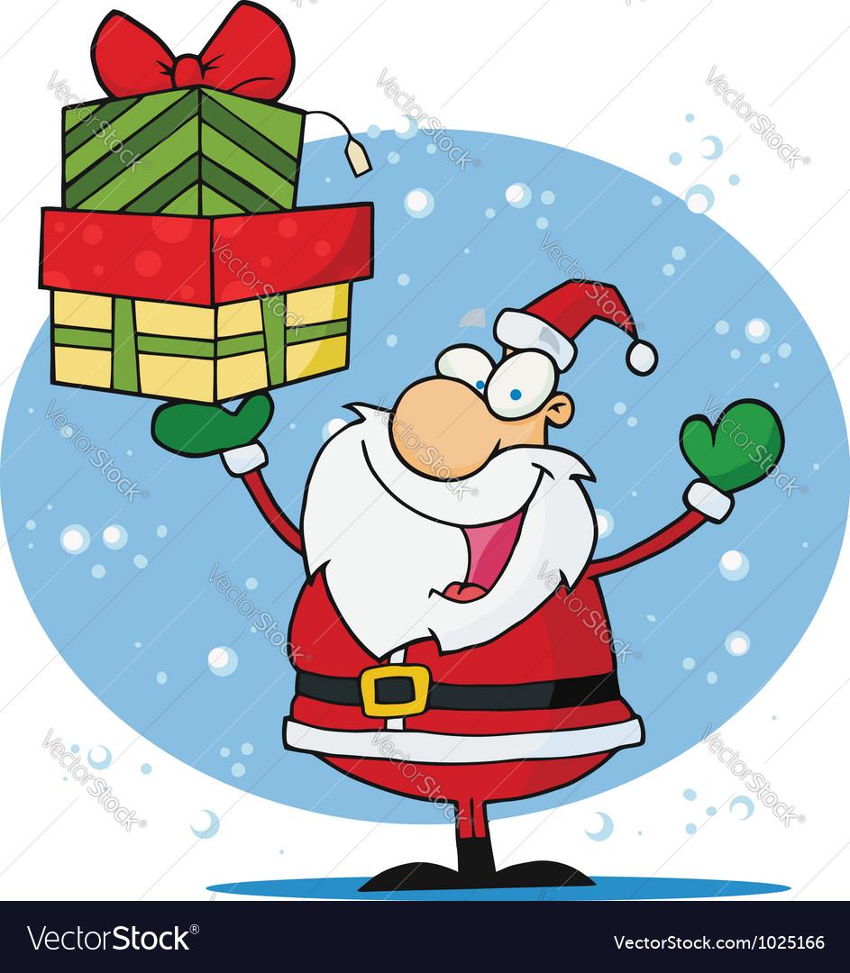 Jolly christmas santa vector | Price: 1 Credit (USD $1)