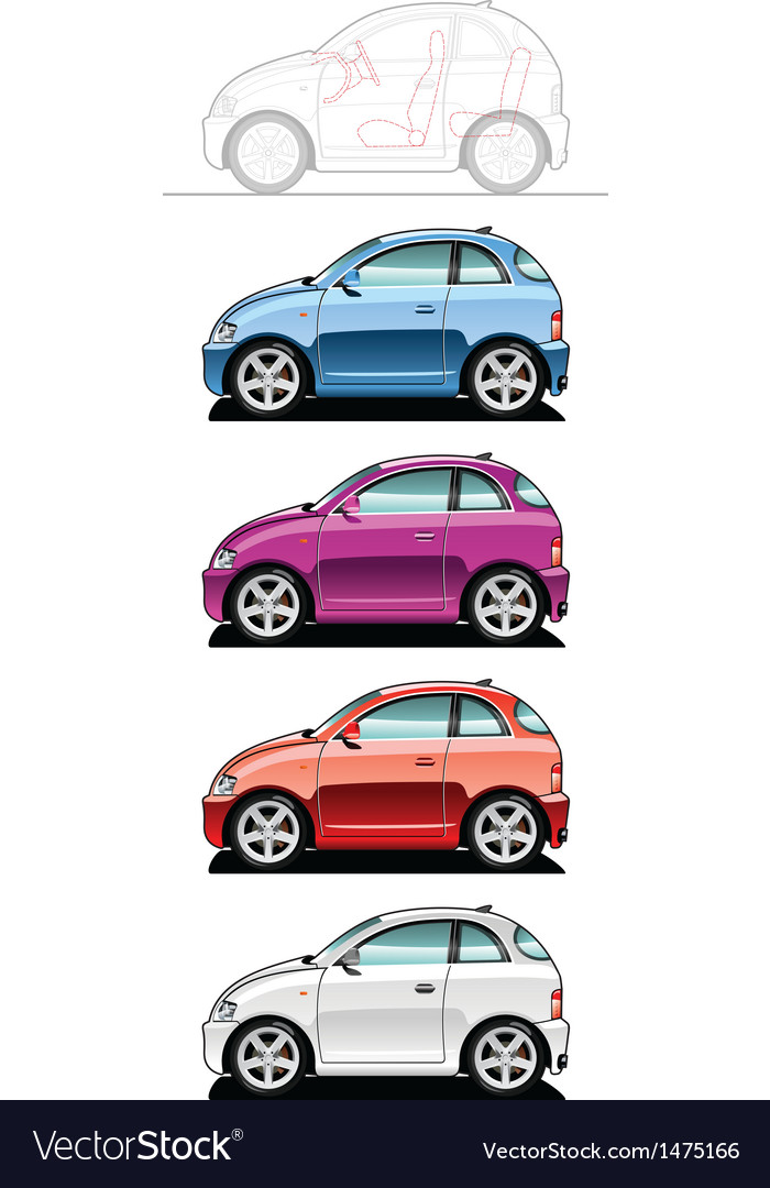 Smallest car vector | Price: 1 Credit (USD $1)