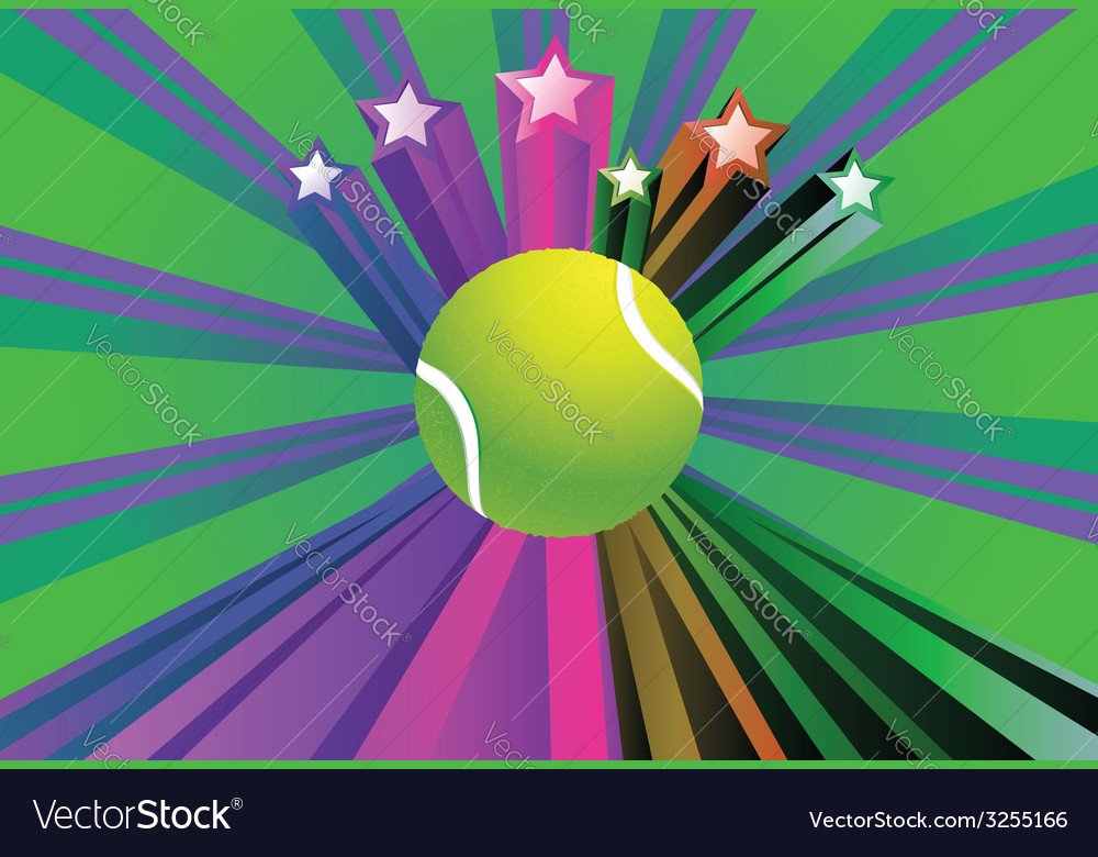 Tennis ball background2 vector | Price: 1 Credit (USD $1)
